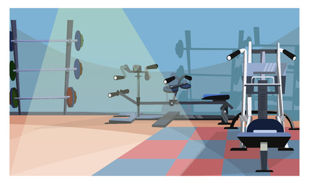 Gym room stock illustrations cliparts and royalty free gym