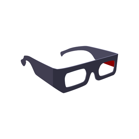 3D goggles for cinema. Simple cinema device. Can be used for topics like interaction, entertainment, film