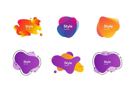 Collection of creative art objects. Vector illustration. Can be used for advertising, marketing, presentation