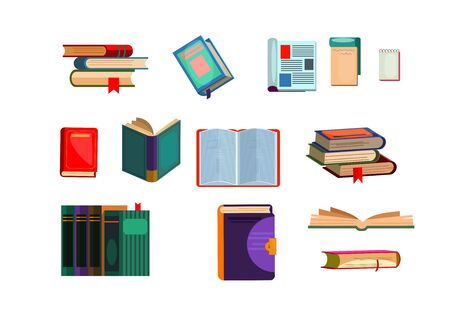 Various books set. Collection for university and college. Can be used for topics like studying, knowledge, literature