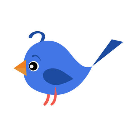 Violet toy bird illustration.Cute, playing, srping. Newborn concept. illustration can be used for topics like child, children stuff, toy market Reklamní fotografie