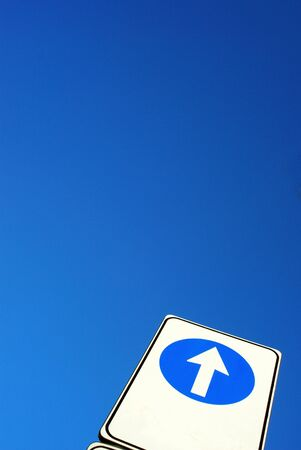 up arrow Stock Photo