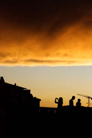 sky after storm