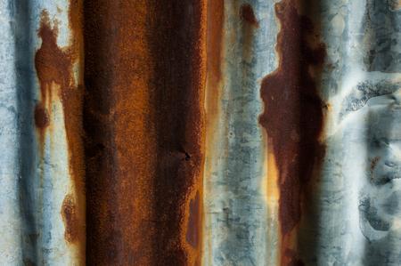 galvanized: Rusty galvanized iron background Stock Photo