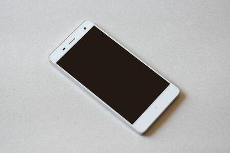 bottons: smart phone close-up