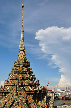 Thai pagoda in Wat Arun Bangkok