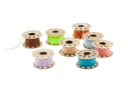 Colorfull bobbins Stock Photo - 8246839