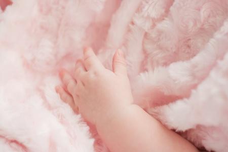 Baby hands photo