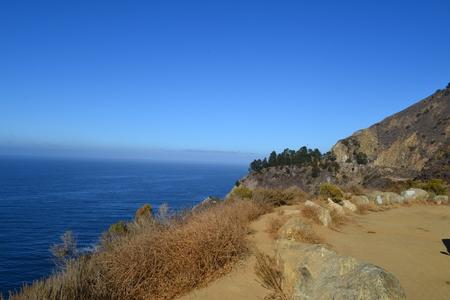 roadtrip: HighWay 1 - California Stock Photo