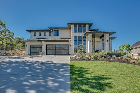Luxury modern two story home with basement living