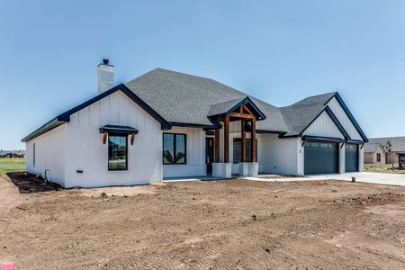 Superior craftsmanship of this newly built modern farmhouse