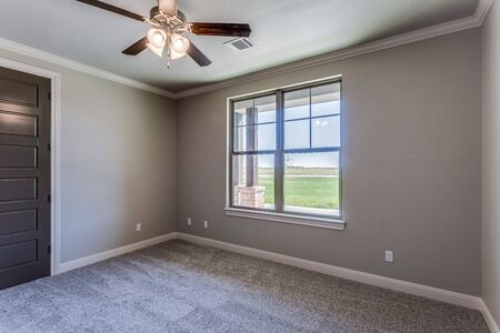 Bedroom without any furniture yet