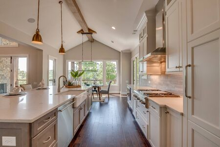 White kitchen with all the latest trends