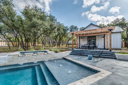 Amazing home with swimming pool and lots of space for entertaining Stok Fotoğraf