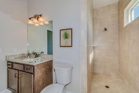A big and beautiful bathroom.