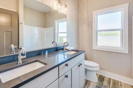 A very stylish design for a wall in bathroom. 版權商用圖片