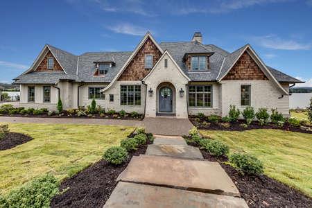 A modern outlook of a house. Reklamní fotografie