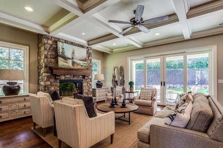 Great family room to enjoy company.