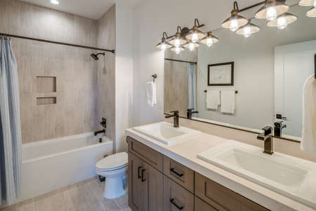 Amazingly made bathroom with a remarkable piece of design.