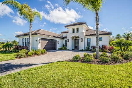 Beautiful modern design of a new home.