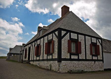 Forteresse de Louisbourg au Cap-Breton, en Nouvelle-�cosse  Banque d'images
