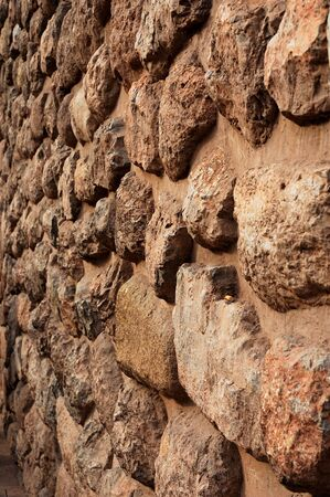 An ancient Inca wall found in Cusco, Peru