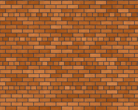 Dark motar brick wall background textured Stock Photo