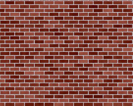 variegated: Dark red brick wall background textured