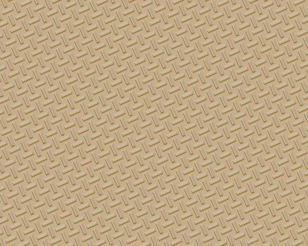 diamond plate industrial background  small brass bars