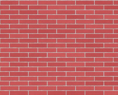 variegated: long red brick wall background textured