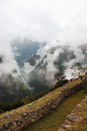 Machu Picchu, Inca ruines � la fin du Chemin de l'Inca dans les Andes