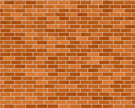 variegated: medium one third running brick wall background textured Stock Photo