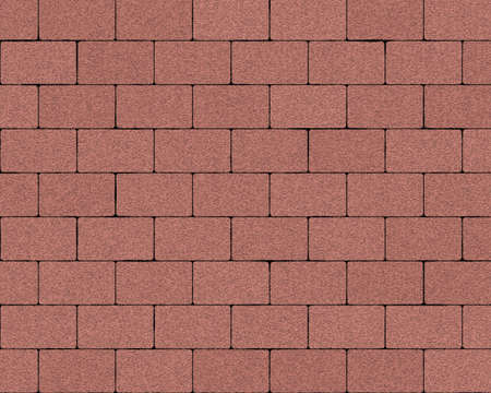 large paved stones brick wall background textured photo