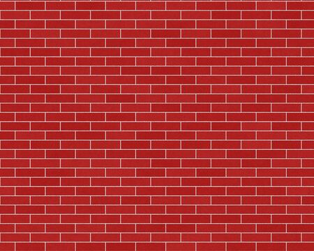 Dark red common brick wall background textured