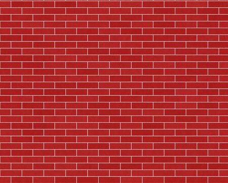 Donker rood bakstenen muur gemeenschappelijke achtergrond getextureerde Stockfoto