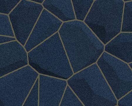 stone wall construction pattern