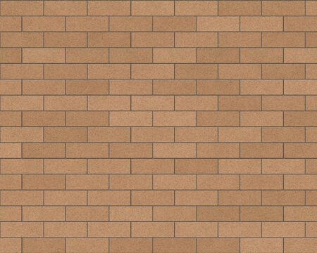 eroded: tan brick wall background textured