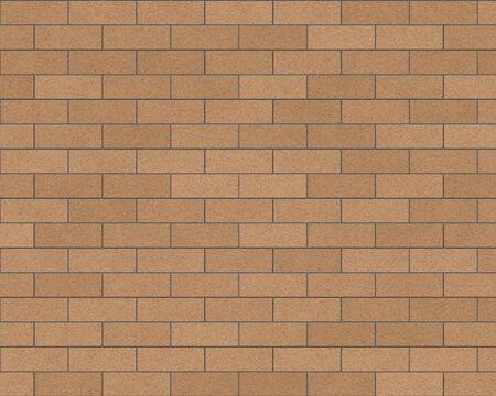 tan mur de brique arri�re-plan textur�