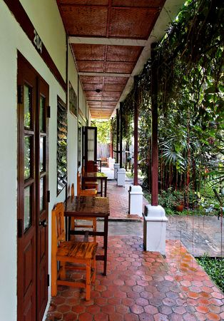 jungle lodge in northern thailand