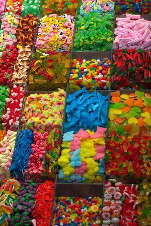 sweeties: Variety of candies
