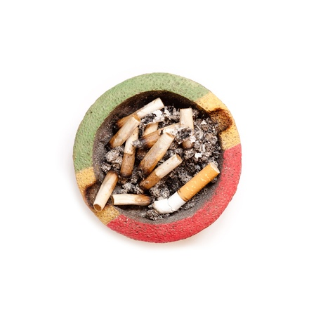 astray: Astray full of cigarette butts