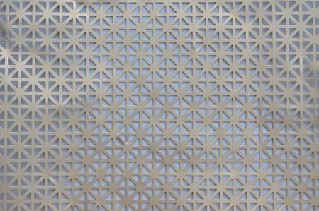 aluminium metallic mesh pattern photo