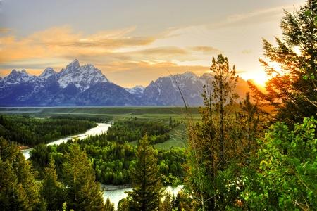 teton: Grand Teton a trascurare Snake River