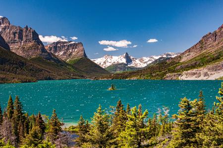 Wild Goose Island, Saint Marry Lake, Montna