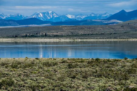 mono: Mono Lake California Stock Photo