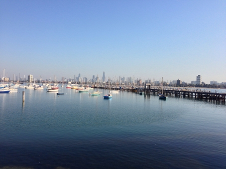 Melbourne view from St Kilda