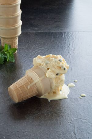 afters: Passionfruit Ice cream