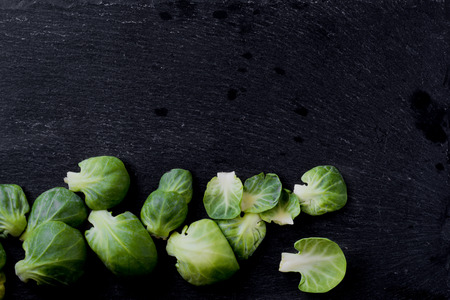 Brussels sprouts Stock Photo
