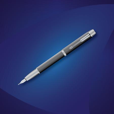 Elegant gray pen