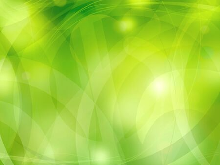 Green light abstract background illustration Stock Photo